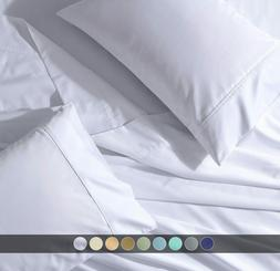 Cotton Extra Deep Pocket PERCALE Bed Sheet Set