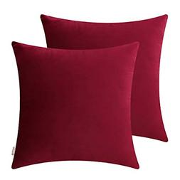 Brawarm Cozy Throw Pillow Covers Cases for Couch Bed Sofa So