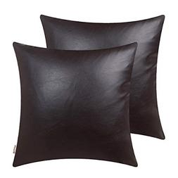 Brawarm Cozy Throw Pillow Covers Cases for Couch Sofa Bed So