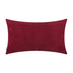 CaliTime Cushion Covers Pillow Shell Case Couch Bedding Plai