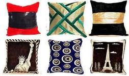 Decorative Handmade Velvet Throw Cushion Cover Pillow Case 1