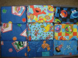 DISNEY, KIDS,& MISC HAND CRAFTED REMOVEABLE PILLOW CASE COVE