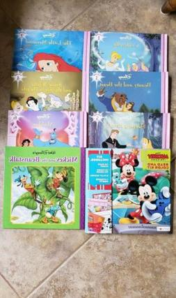 Disney Princess And Mickey Book Set
