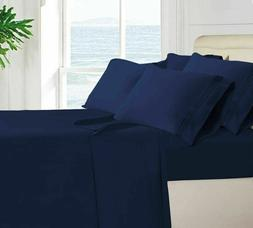Egyptian Bed Sheet 4 Piece Set 1800 Series Comfort - With De