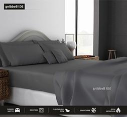QUEEN SHEETS LUXURY SOFT 100% EGYPTIAN COTTON - Sheet Set fo