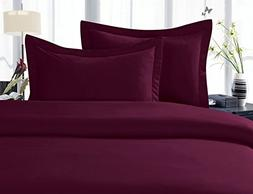 Elegance Linen ® 1500 Thread Count Egyptian Quality 4 pc Sh
