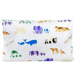 Wildkin 100% Cotton Pillow Case, Bold Patterns Coordinate wi