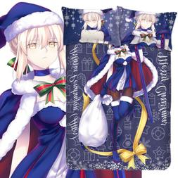 Fate/stay night Saber Alter Anime Cover BedSheet Pillowcase