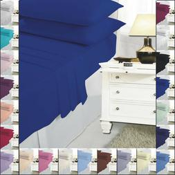 fitted and flat sheet set with pillow