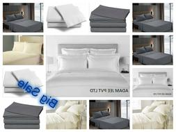Fitted Bed Sets Flat Sheets 1900 Series 16 Deep Pocket Wrink