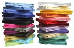 Fitted Sheet 2 PC Pillow Case Twin XXL 1000 Thread Count Sof