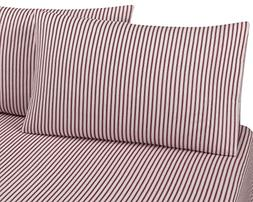 FLANNEL PILLOWCASES by DELANNA, 100% Cotton, Brushed on both
