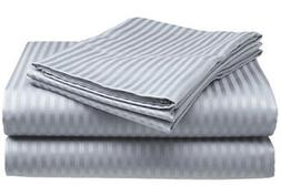 Full Size Silver/Gray 400 Thread Count 100% Cotton Sateen Do