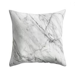 Geometric Marble Texture Throw Pillow Case Cushion Cover Sof