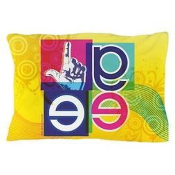 """CafePress Glee Colorful Standard Size Pillow Case, 20""""x30"""""""