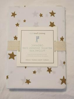 Pottery Barn Kids Gold Organic Metallic Shining Star Standar