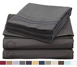 HIGHEST QUALITY Bed Sheet Set, #1 on Amazon, Full Size, Char