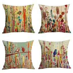 Home Office Sofa Throw Pillow Case Cushion Covers Decorative