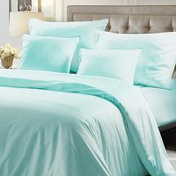 NTBAY Hotel Luxury 5 Pieces Bedding Set 100% Egyptian Cotton