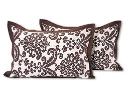 ShalinIndia Indian Pillow Covers Pillowcases - Set of 2 - Bo