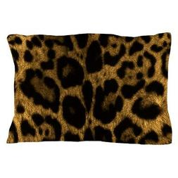 "CafePress Jaguar Print Standard Size Pillow Case, 20""x30"""