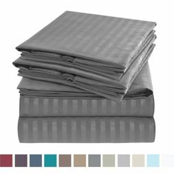 Jennifer Stewart 1800 Series 6 Piece Bed Sheet Set High-Qual