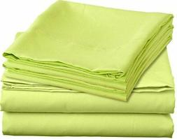Clara Clark Juvenile 3-Piece Full Double,Flat Sheets,Fitted
