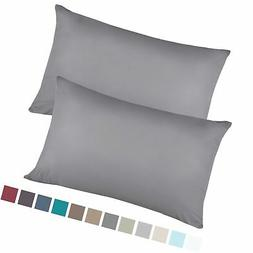 Empyrean Bedding Set of 2 Premium King-Size Pillowcases Micr