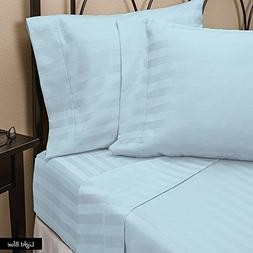 KM Bedding Egyptian Cotton 600- Thread- Count 4- Piece Home