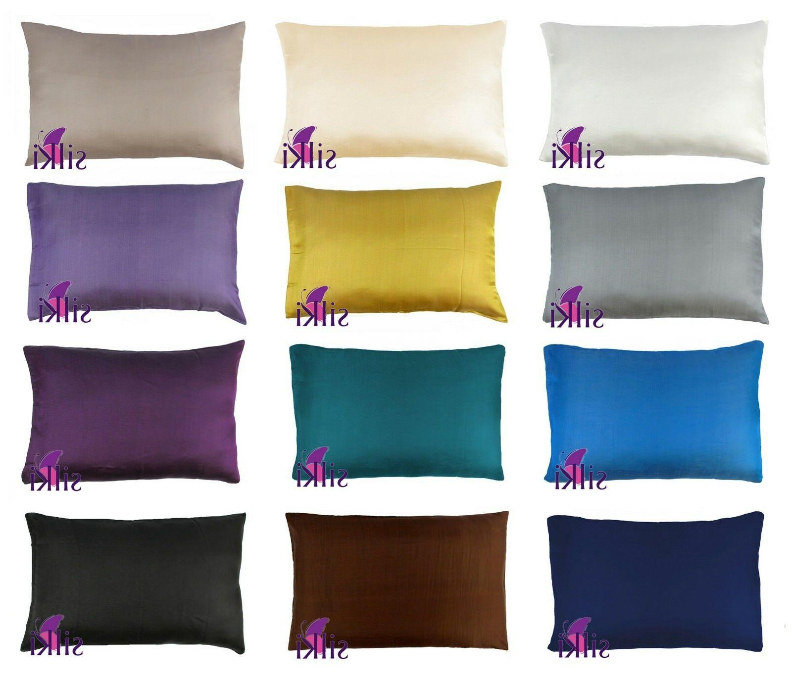 1 pc: 100% Pure 25 momme Mulberry Silk Facial Beauty Pillowc