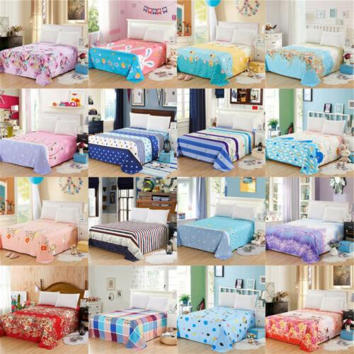 1 Piece Ultra Soft Bed Sheet Brushed Twin Full Queen King Be