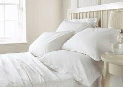 100 percent cotton bamboo white bed sheet