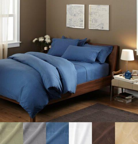 100% Egyptian Cotton Flannel Pillowcases Set of Two Pillow C