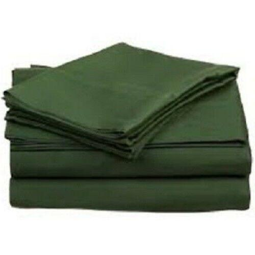 1000 count hunter green solid color sheet