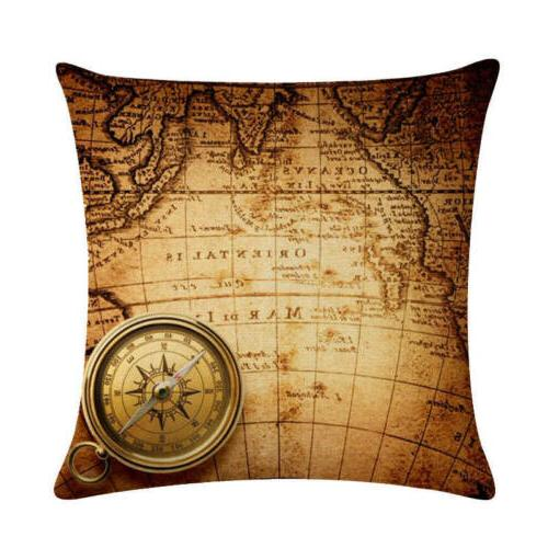 """18"""" Cushion Cover Vintage World Cojines"""