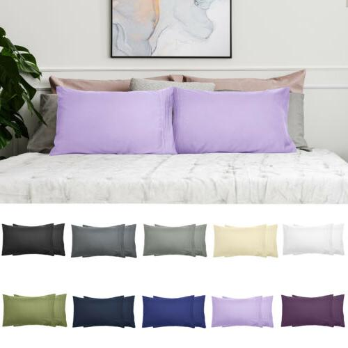 1800 Series Microfiber Pillowcases Premium Soft 2PC Soft Pil