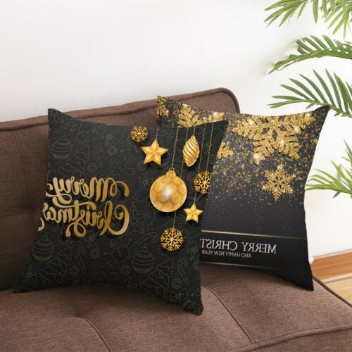 "18x18"" Christmas Pillow Case Sofa Covers Home"
