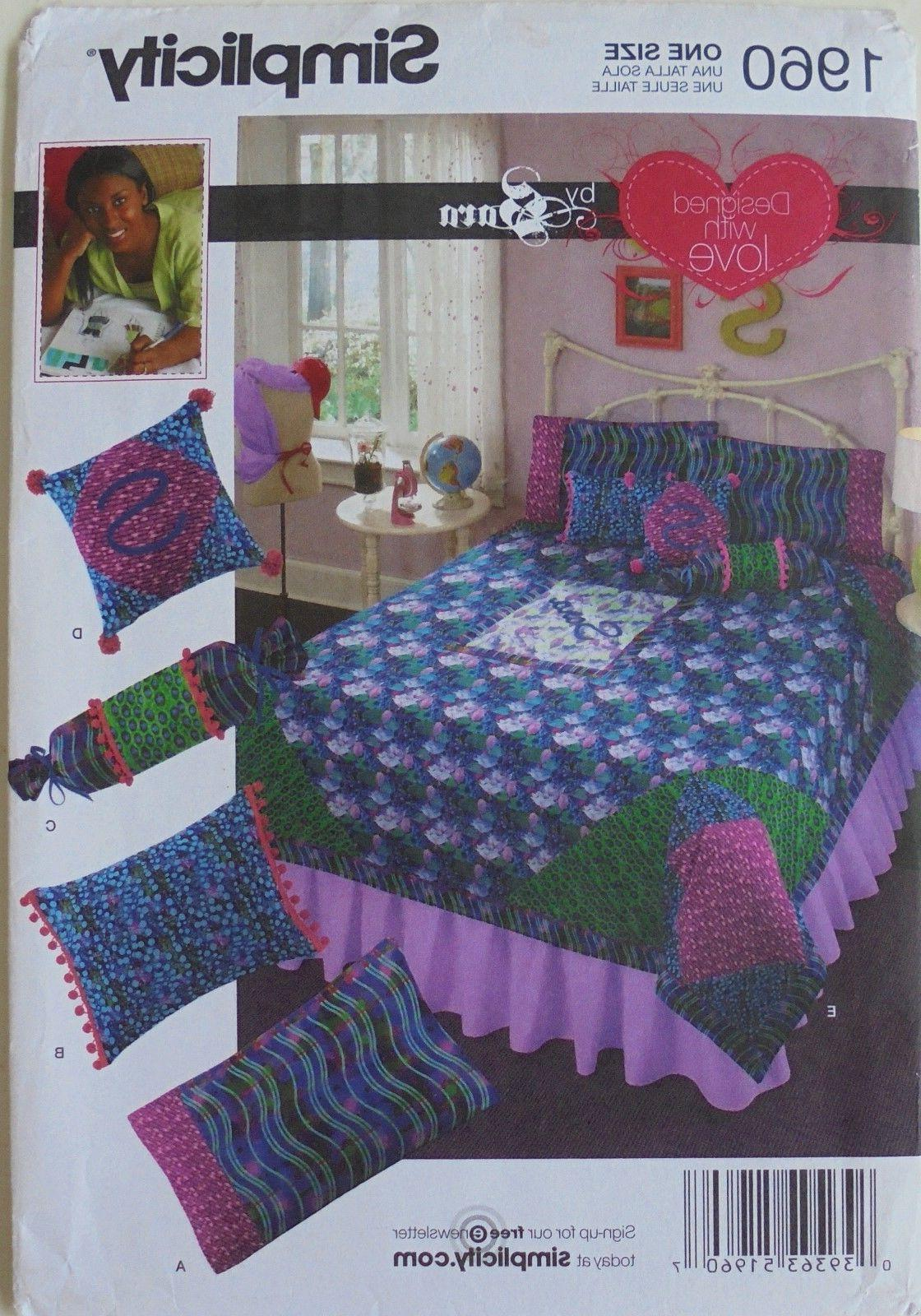 Simplicity 1960 By Sara Bedroom Quilts Pillow Case Pillows S