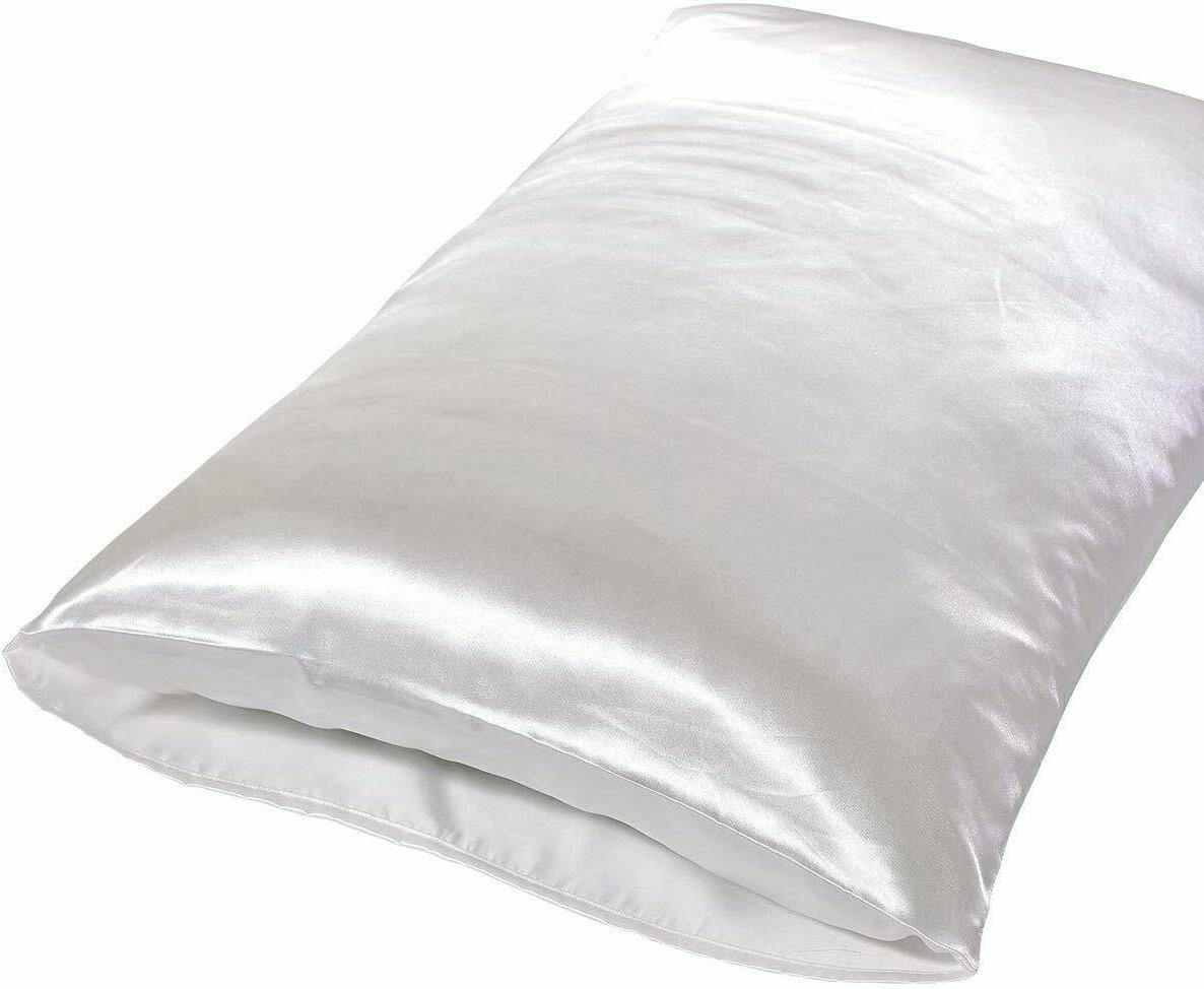 2 Standard Queen Silk Cover Home