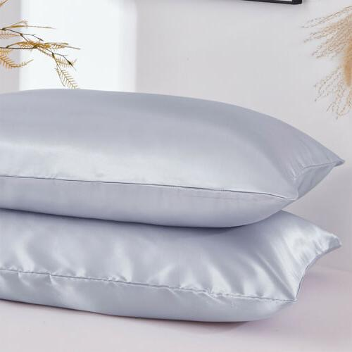 New Pure Mulberry Pillow Case Cover King Queen
