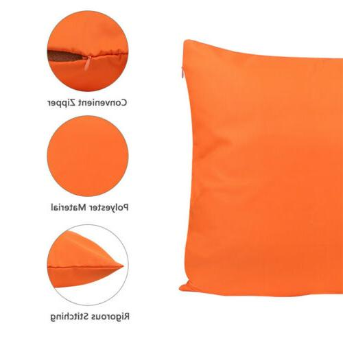 2X Outdoor Waterproof Pillow Cover Case For Furniture