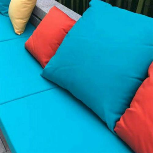 2X Waterproof Pillow Cover Cushion Case For Patio Furniture Couch