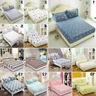 3 Sizes New Flora Color Fitted Sheet Twin Full Queen King Be