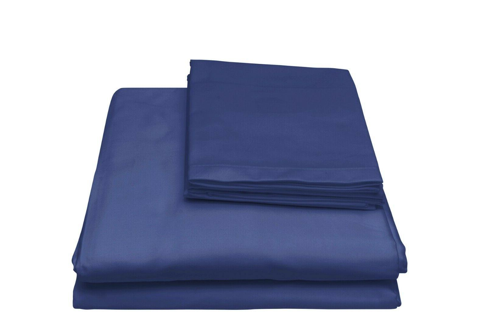 4Piece Bed Sheet Set 1800 Thread Count Bamboo Feel Full Twin