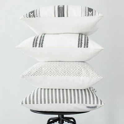 5X(Decorative Pillowcases Only for Sets of 18 x Modern