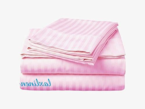 600 thread fitted sheet
