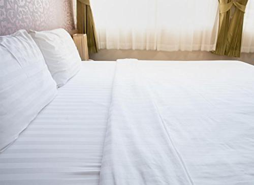 American Cotton Luxury 540 Thread Fitted with Wrinkle Guard - Queen,
