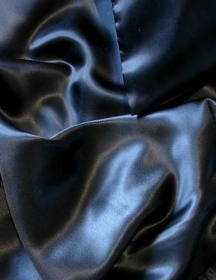 Black 3 pcs 100% silk charmeuse sheet set twin xl fitted fla