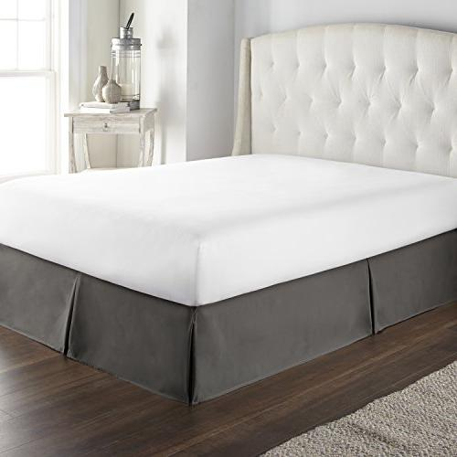 Hotel Luxury Bed Ruffle inch & Fade Resistant, Top Quality