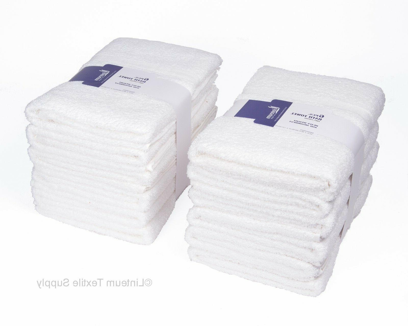 Linteum Textile 100% Cotton Hotel-Quality HAIR TOWELS 20x40